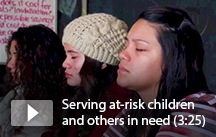Video: Serving at-risk children 