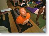 "Post image for Doing ""yoga"" with Russell Simmons"