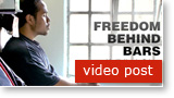 Post image for FREEDOM BEHIND BARS: Transforming lives of inmates and guards