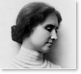 "Post image for Helen Keller – ""I feel the flame of eternity in my soul"""
