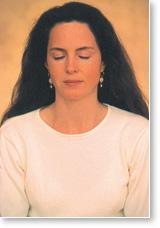 Lady-meditating