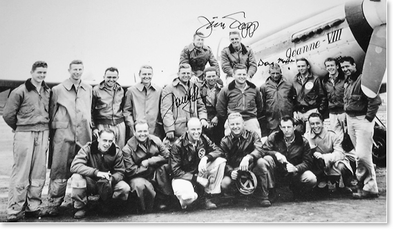 world-war-2-pilot-group