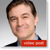 Post image for Dr. Oz on how you can overcome the build-up of life's stresses