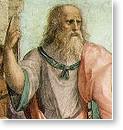 Платона, на картине итальянского художника Рафаэля (1483-1520)
