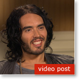 Post image for Russell Brand finds TM helps deal with the stress of celebrity