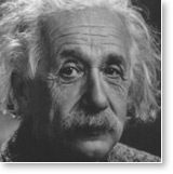 "Post image for Albert Einstein – ""There is Neither Evolution nor Destiny; Only Being."""