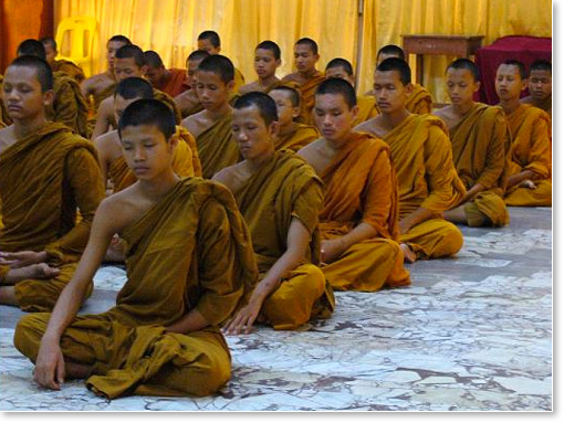 Thousands Of Buddhist Monks In Asia Learn Transcendental Meditation