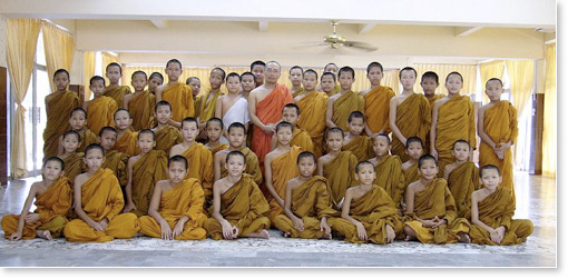 Thousands of Buddhist Monks in Asia Learn Transcendental ...