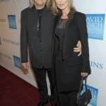 Musician Joe Walsh (L) and Marjorie Bach