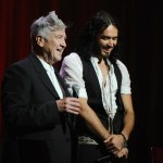 Director/Musician David Lynch (L) and actor/Comedian Russell Brand