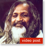"Post image for Maharishi speaks on ""living unbounded awareness in daily life"""