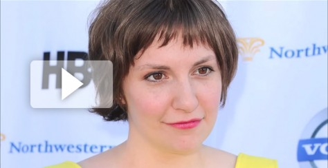 Lena Dunham Play Button
