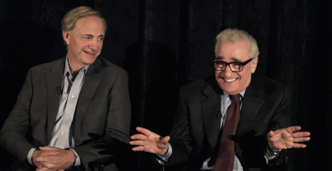 Ray Dalio and Martin Scorsese
