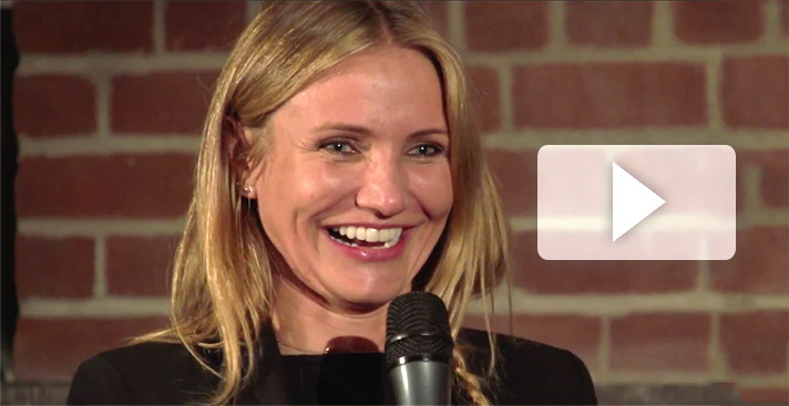 Cameron Diaz Meditation Talk