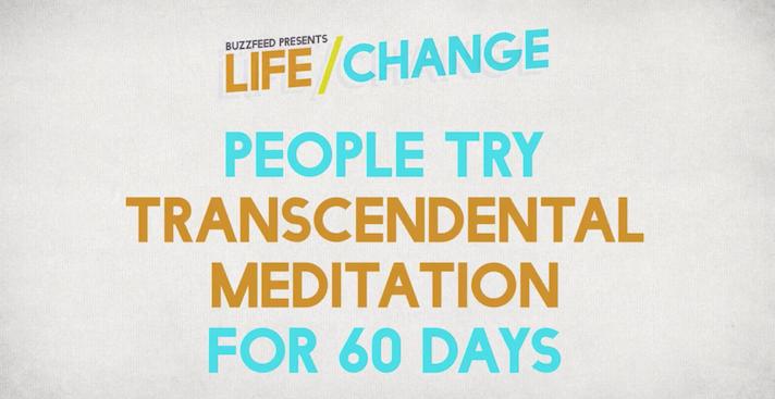 Buzzfeed Transcendental Meditation