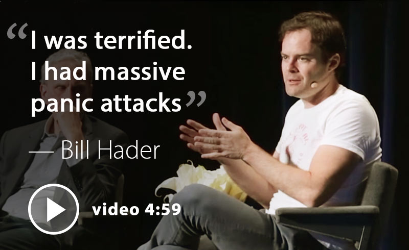 bill hader on his panic attacks